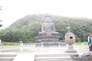 Big Buddha near Seoraksan