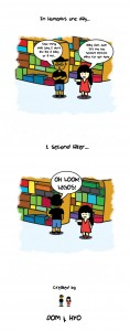 Dom and Legos