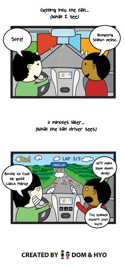 Taxi Drivers in Korea