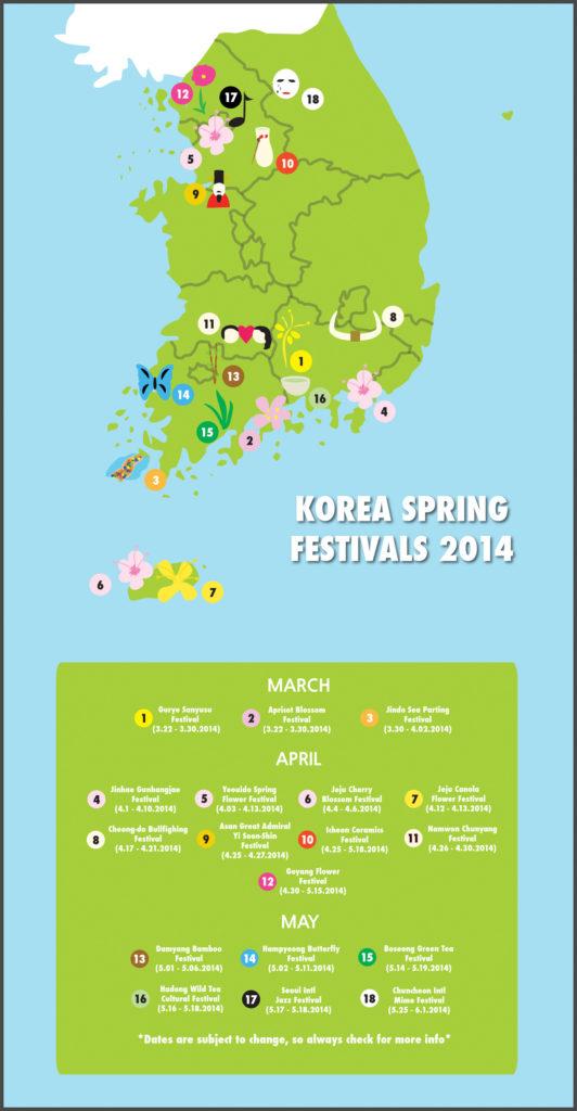 Korea Spring Festivals