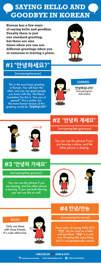 How to say hello goodbye in korean learn basic korean vocabulary goodbye and hello in korean kristyandbryce Image collections