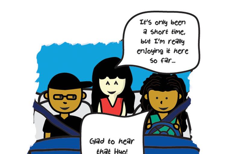 Line Webtoon: The Middle Finger
