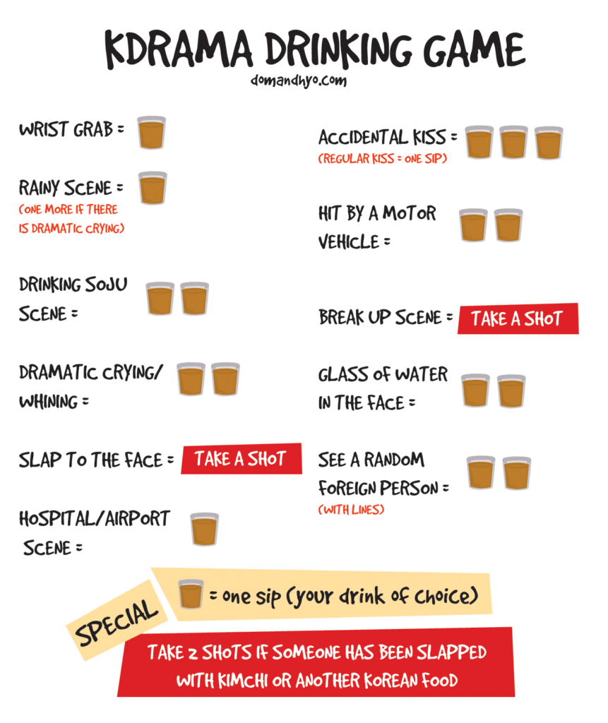 Good Morning My Dear In Korean Language : Korean drama kdrama drinking game learn basic