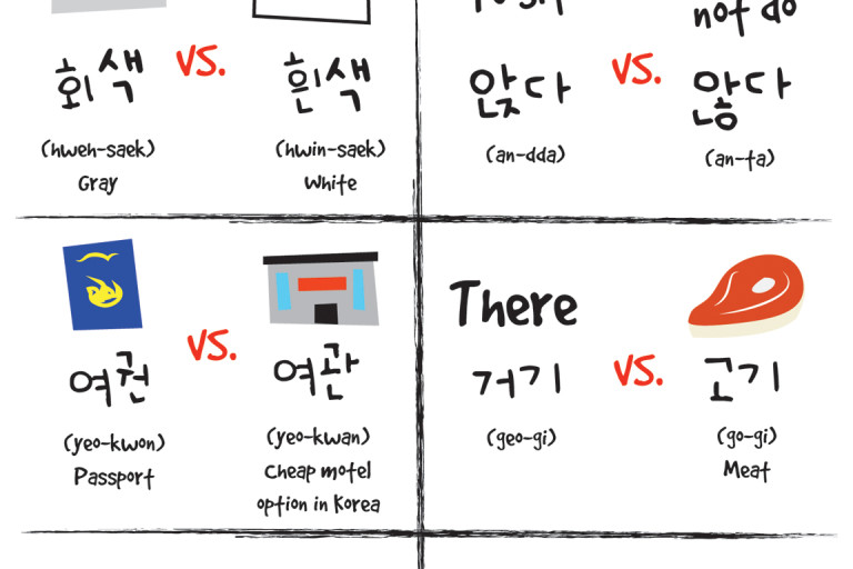 Good Morning My Dear In Korean Language : Small differences in korean part dom hyo korea