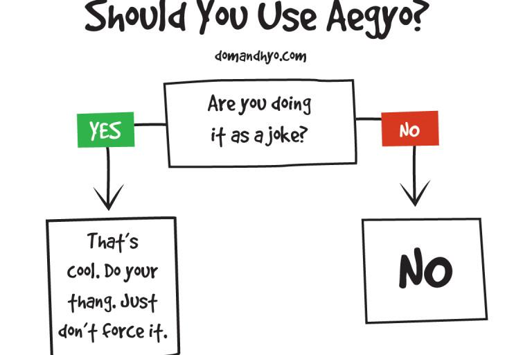 Should You Use Aegyo?