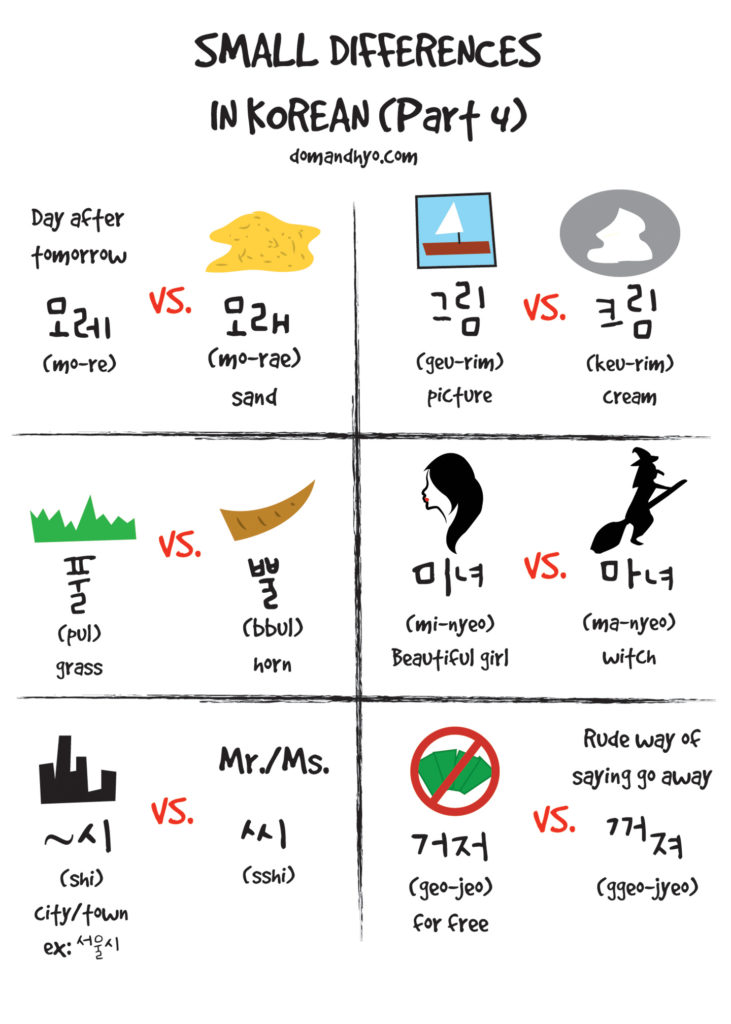 Good Morning My Dear In Korean Language : Small differences in korean pt dom hyo korea