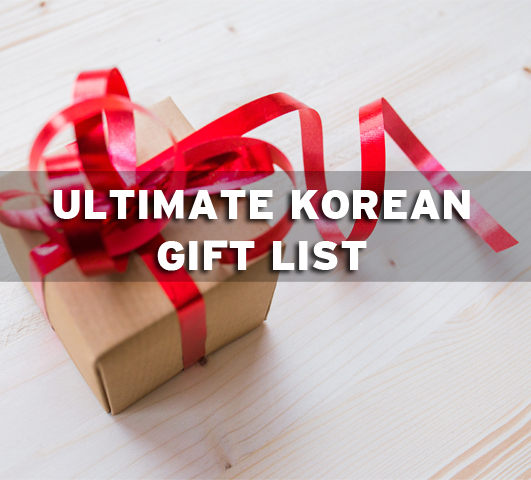 Korean gifts