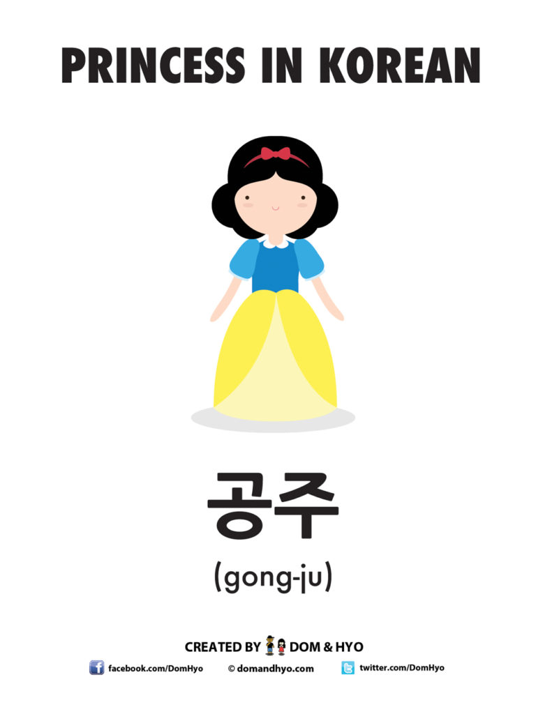 How to Say Princess in Korean