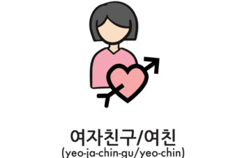 How to say girlfriend in Korean