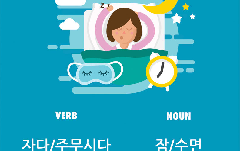 How to Say Sleep in Korean