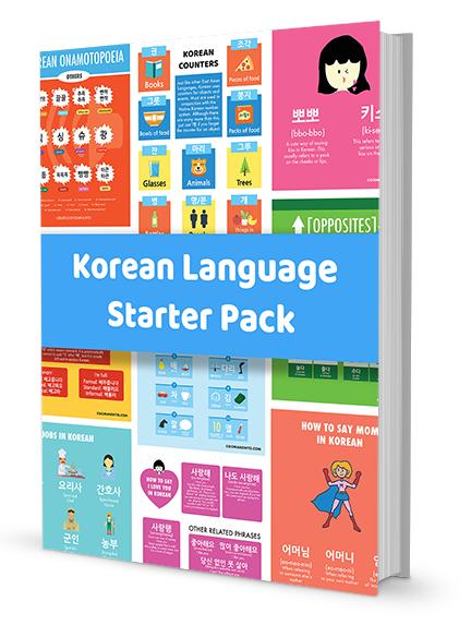 Korean Worksheets - Starter Pack